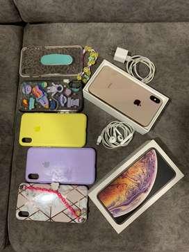 Iphone XS Max Dorado - 64 GB - Estado 10/10