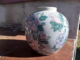 Adorno Maceta Florero Macetero Centro De Mesa De Ceramica