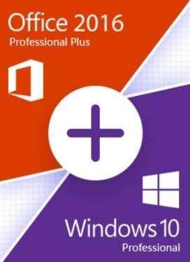 Windows 10 Y Office 2016 para Tu Computa