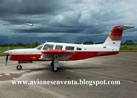 VENDO AVION PIPER TURBO LANCE - COLOMBIA