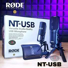 MICRÓFONO USB CARDIOIDE PARA ESTUDIO RODE NT-USB