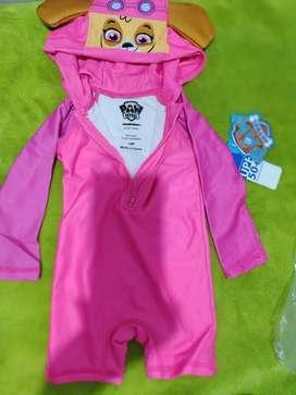 Vestido de baño bebé SKY paw Patrol talla 12meses