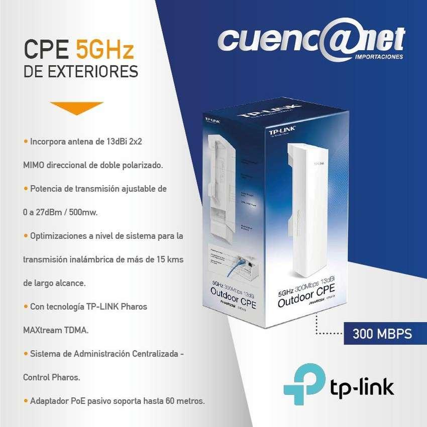 TPlink Cpe510 Para Exteriores De 13dbi 5ghz 300mbps 0