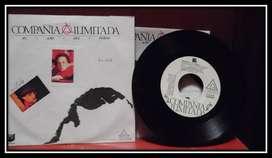 Compañia Ilimitada- El Año del Fuego. Lp. Vinilo. Promosional