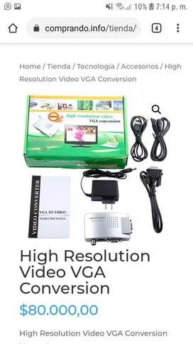 vga conversion high resolution video