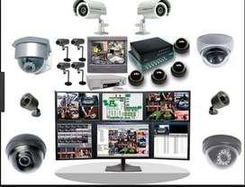 Tecnico instalador de camaras de seguridad mantenimiento de CCTV DVR