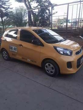 Vendo taxi kia picanto en buen estado