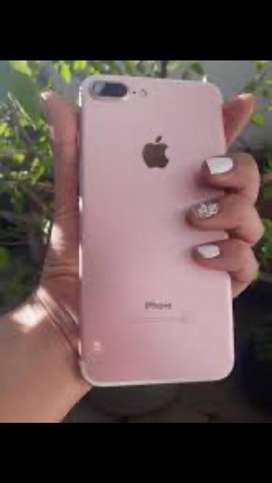Vendo Iphone rose 7 plus de 128 gb libre de icloud