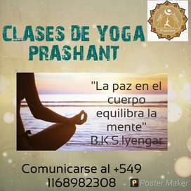 CLASES DE YOGA PRASHANT !!!