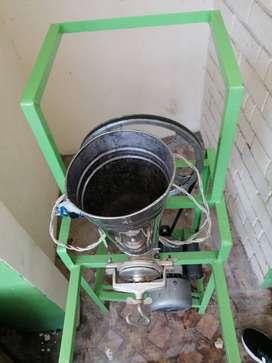 se vende estufa freidora y molino de maiz