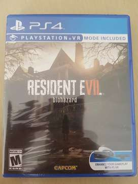 Resident evil 7 ps4 nuevo