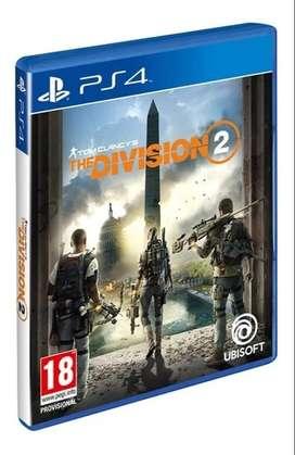 THE DIVISION 2 PS4 Físico Blu-ray Original Nuevo Sellado