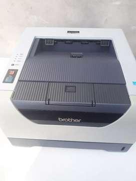 Impresora brother 5350 con doble faz (impresión de ambas caras automáticamente)