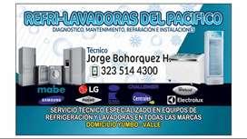 Técnico en refrigeración y lavadoras Yumbo-valle