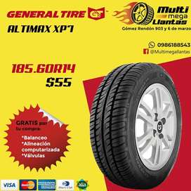 Llantas 185.60r14 General Altimax xp7