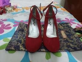Zapatos en gamuza