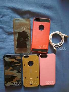 Fundas y cable para iPhone 6/6s PLUS