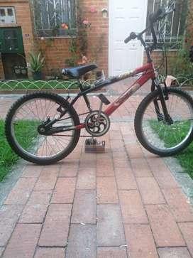 Bicicleta cros para niño