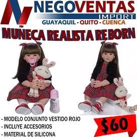 Muñecas reborn realistas en variedad de modelos