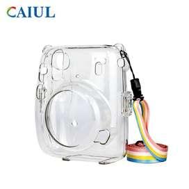 Estuche Bolso Protector para Cámara Instax Mini 11 de Fujifilm Transpartente Clear