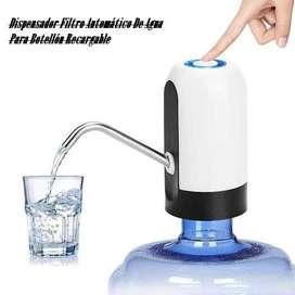 Dispensador Filtro Automático De Agua Para Botellón Recargable usb