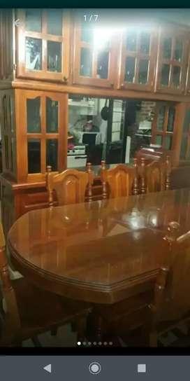Mesas y sillas de algarrobo de primera calidad exelente terminación
