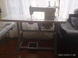 Máquina de coser industrial y filetiadora