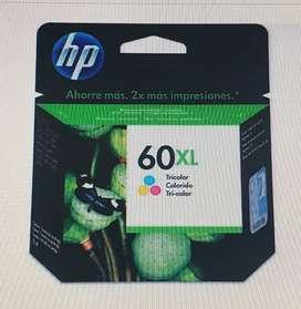 Cartucho  HP 60Xl  tricolor