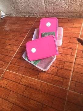 Combo frigofechadores Tupperware