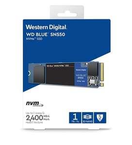 Disco de Estado Solido SSD M2 Western Digital 1 TB SN550