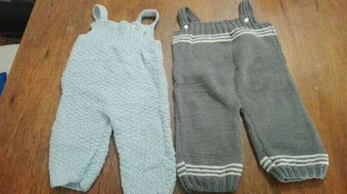 Jardinera de lana 0
