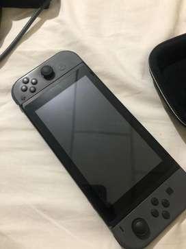 Nintendo Swicht negro