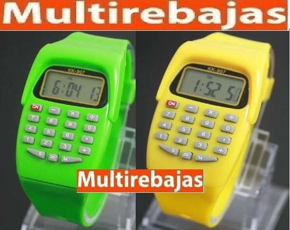 Reloj Calculadora 0