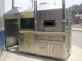 hornos de pollo en acero inoxidable .fabricante