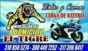 montallantas de motos a domicilio el tigre