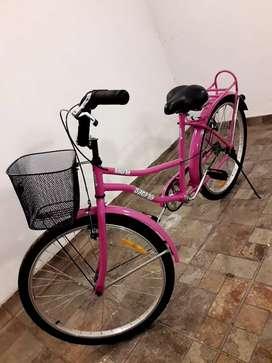 Bicicleta playera de dama
