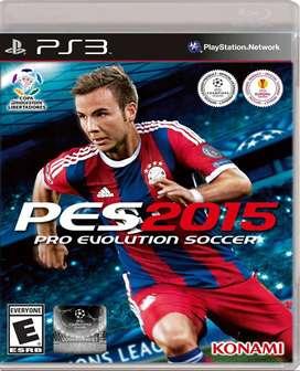 Ps3 Pes 2015 Pro Evolution soccer 2015