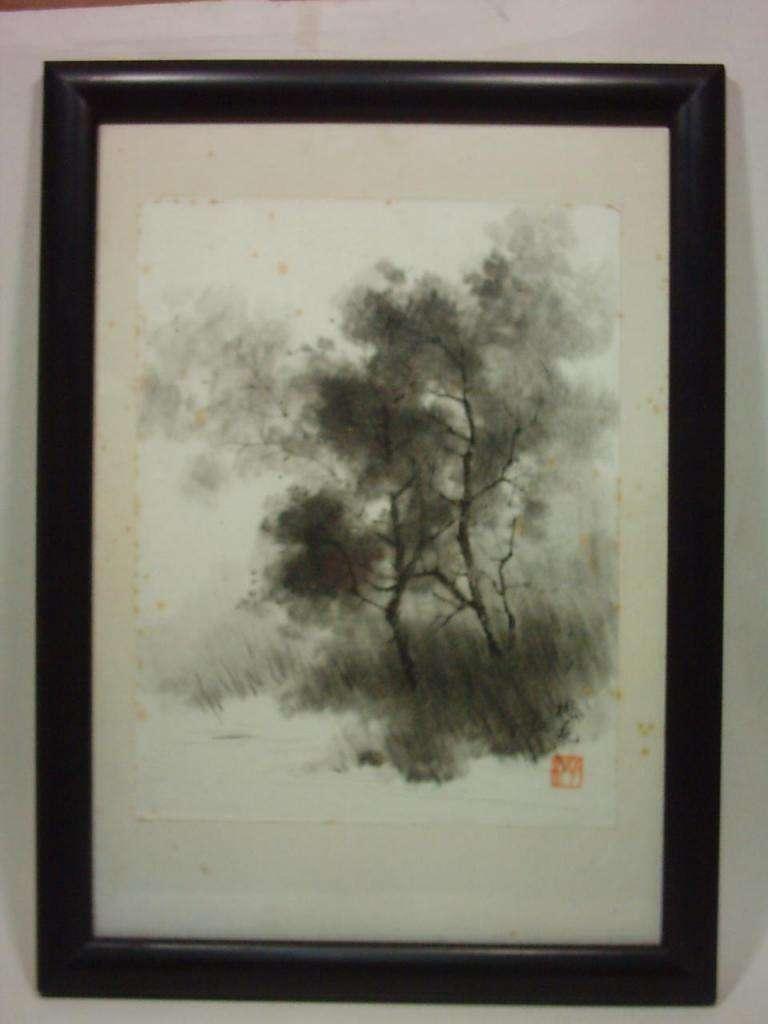 Obra Sumi.e De Kazu Takeda. Certificada