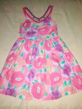 Hermoso vestido talla 10 americano