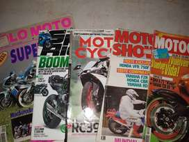 revistas (5) de motos importadas