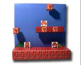 diorama Mario Bros clásico