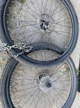 Llantas bicicleta rin 29 completas