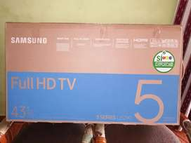 Vendo TV samsung.de 43 nuevo facturas y garantía un año