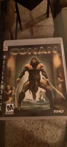 PS3 vendo juegos C O N A N