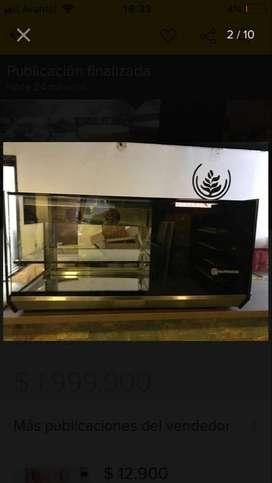 Vitrina refrigedadora para local comercial o café