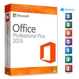 Paquete Office Portable (word, Excel, Powerpoint) Licencia permanente