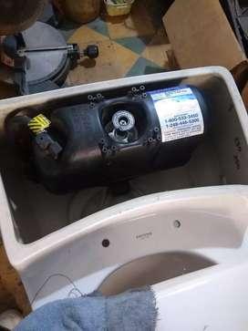 Sanitario corona presión asistida flushmate