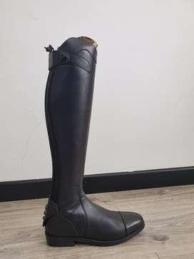 Botas De Equitación Ego7 Aries Talla 38xs/0 Color Negro
