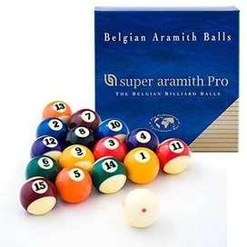 Bolas de pool Super Aramith TV Pro Cup!!! + bola de entrenamiento