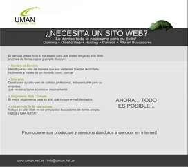 DISEÑO WEB PROFESIONAL + HOSTING + DOMINIO GRATIS